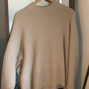 Leith sweater cream color super soft